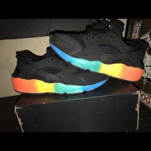 Rainbow Nike Huarache